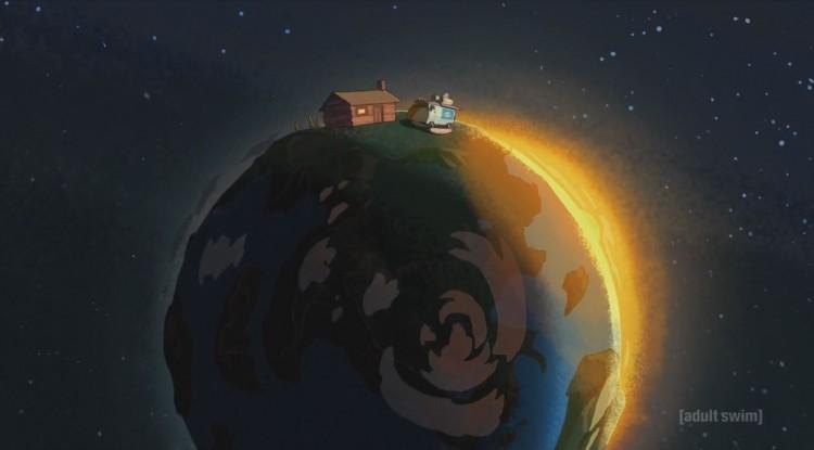 rick and morty - tiny earth