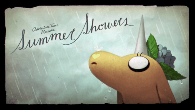 "Photo of The Annotated Adventure Time: Sympathy for the Artist in ""Summer Showers"""