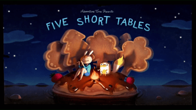 "Photo of Modernist Lit and Plato in Adventure Time's ""Five Short Tables"""