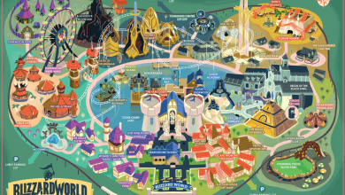 Photo of Limited Edition Blizzard World Park Maps are on Sale