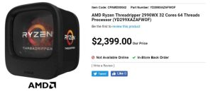 Купить AMD Ryzen Threadripper 2990X ?