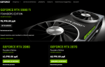 GEFORCE RTX 2080 Ti FOUNDERS EDITION пропала с сайта NVIDIA