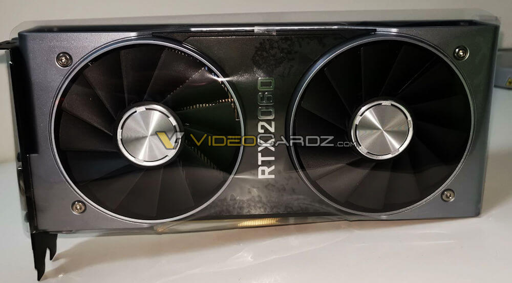 Старт продаж и фото NVIDIA GeForce RTX 2060