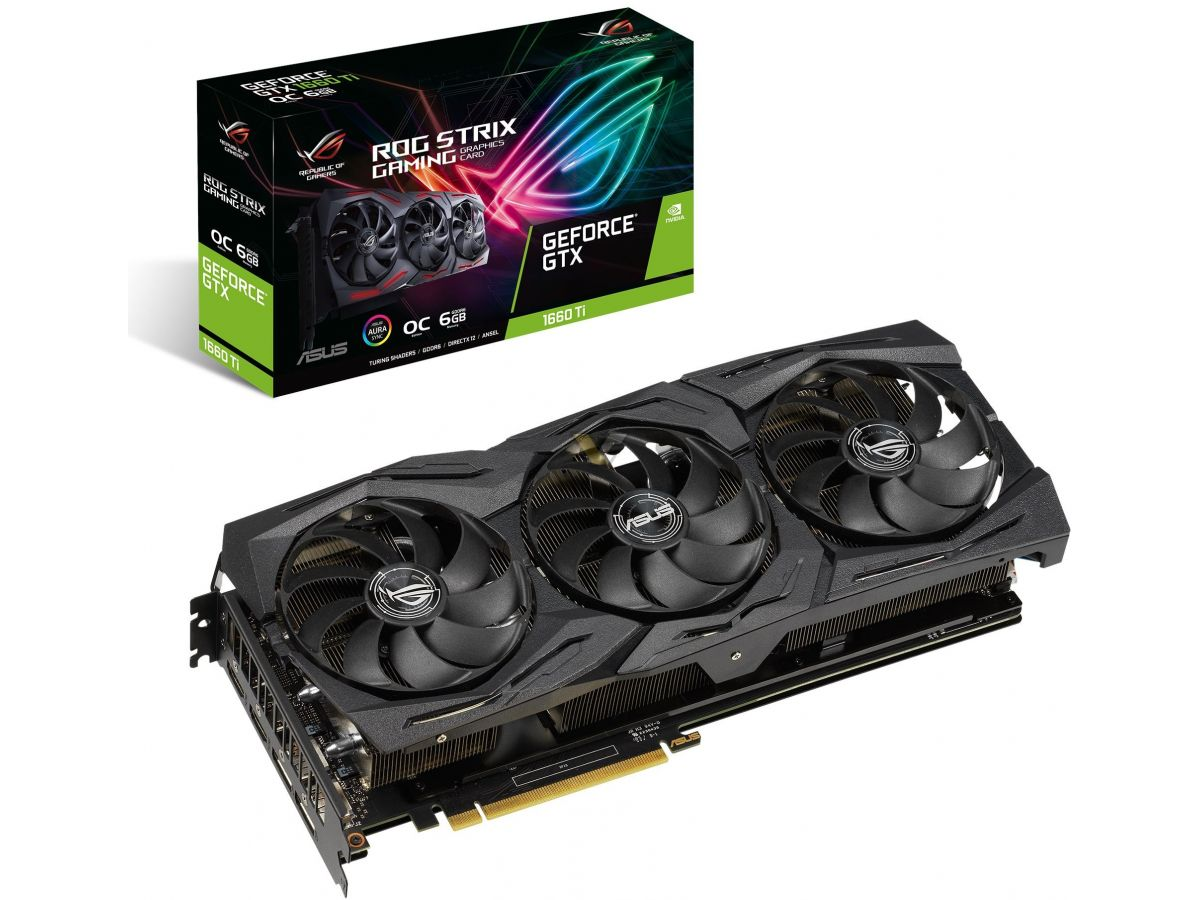 ASUS анонсировала GeForce GTX 1660 Ti Series