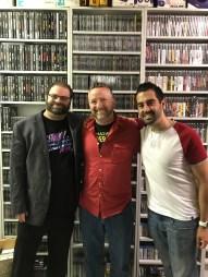 Tom with Dan Tack, PC editor and Brian Shea, digital editor