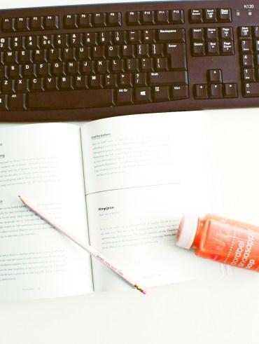 schrijfroutine