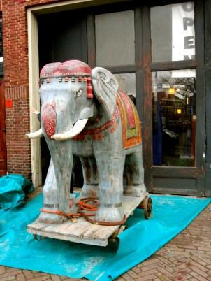 Antiqued Elephant