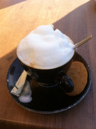 First true love in Holland, Cappuccino