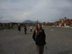 Town Square in Pompeii