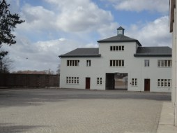 Sachsenhausen Concentration Camp Entrance
