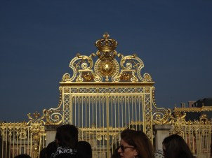 Gates of the Palace of Versailles