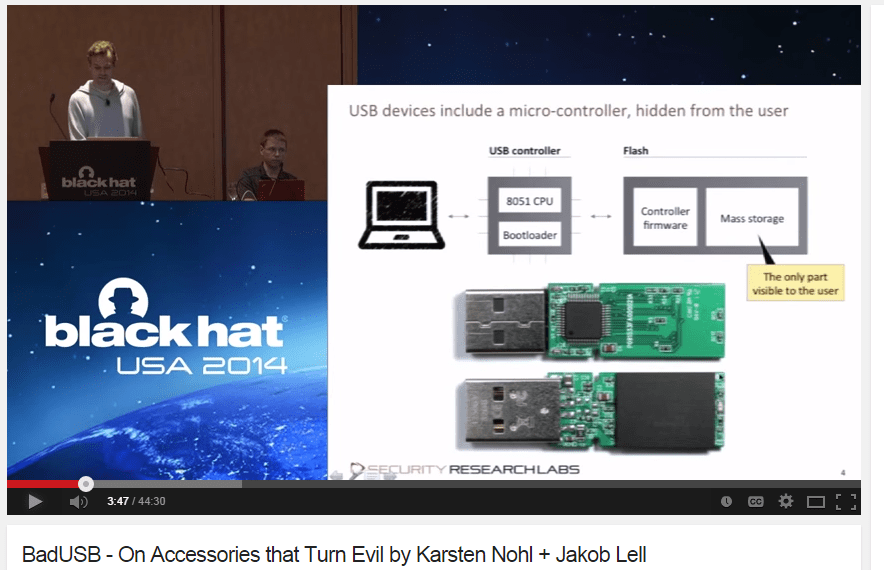 BadUSB is a hack attacking USB controllers everywhere  – Explaining
