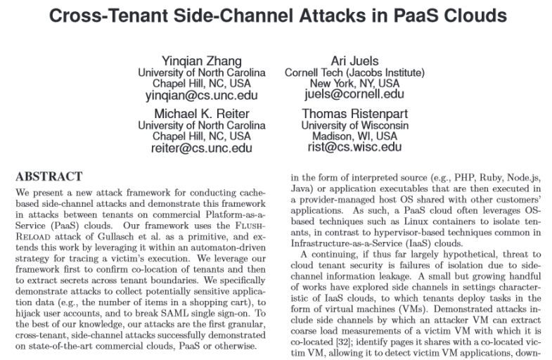 cross-tenant-PaaSclouds
