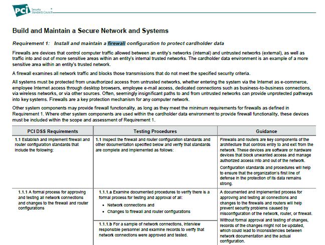 firewallinpcicompliance