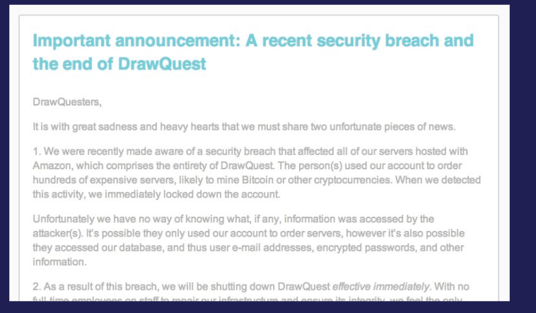 drawquestannouncement