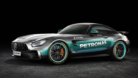 We saved our favourite livery of the (many) Mercedes-Benz teams for last. Should Lewis Hamilton ever want to take a supercar round the track instead of his W08, then this would be a good choice.