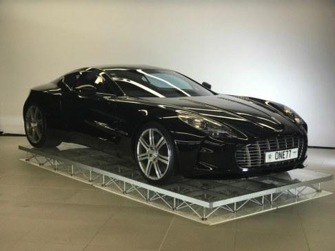 Aston Martin dealership launch 008