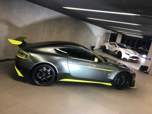 Aston Martin dealership launch 009