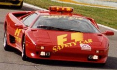 Lamborghini Diablo F1 Safety Car from the 1995 Canadian GP