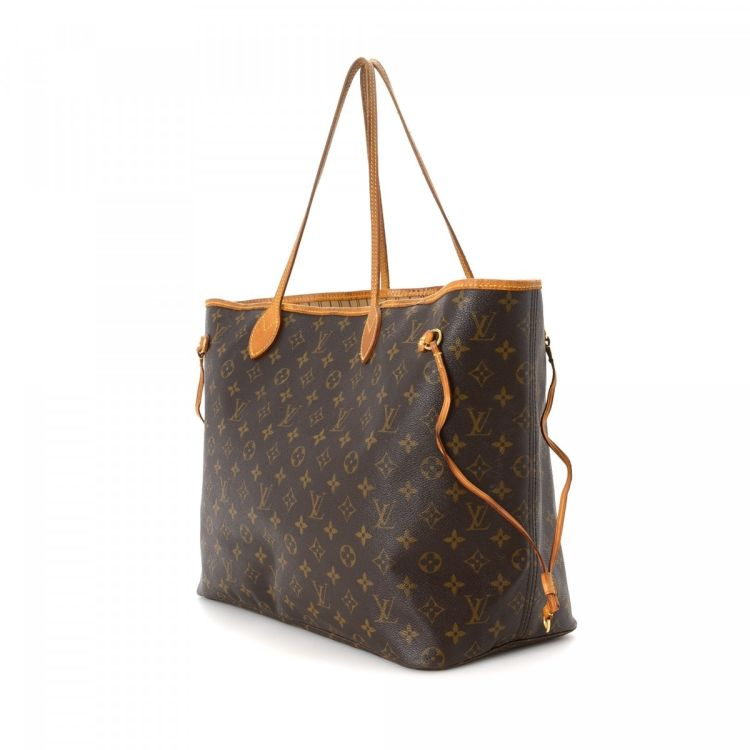 e6a6b9406f8f Neverfull GM Monogram Canvas. This is original louis vuitton Neverfull Gm  monogram canvas bag.