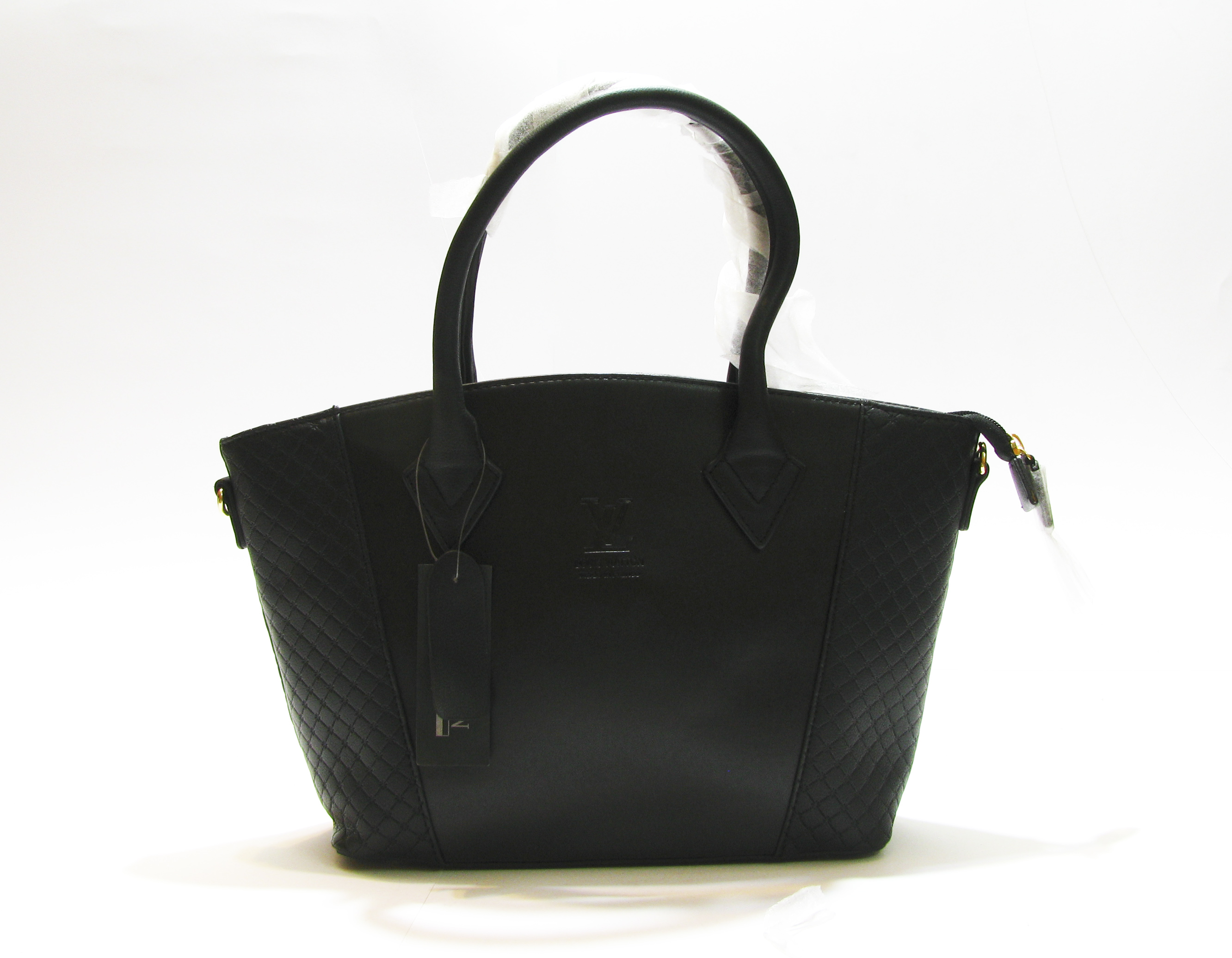 a1f693202f72 Louis Vuitton Black Cashmere Leather Tote W bag - Over Stock Pakistan