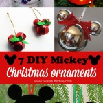 7 Diy Mickey Mouse Christmas Ornaments Overstuffed Life