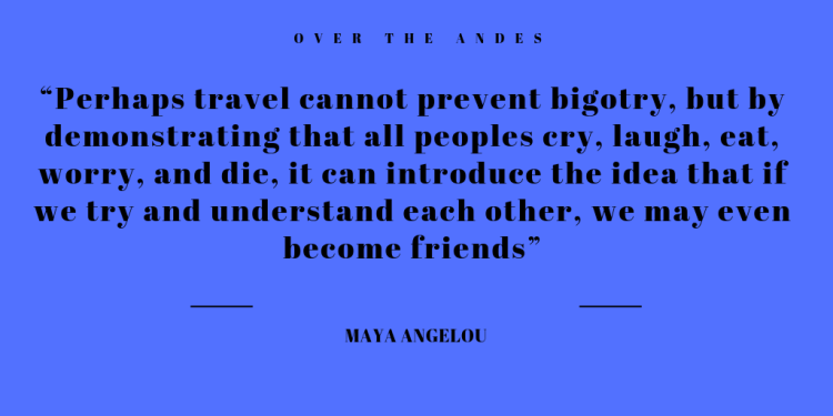 Maya Quote on Travel