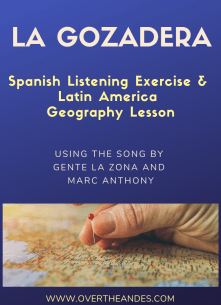 la gozadera: spanish exercise and latin america geography lesson