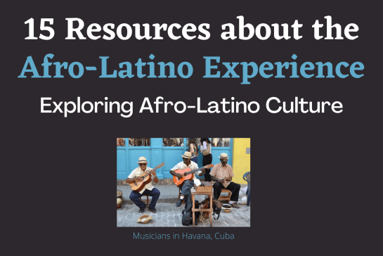 Resources on Afro-Latino Culture