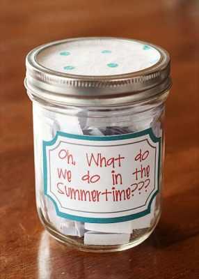 Summer Activity Jar