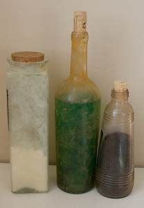 Aging Glass Jars Tutorial
