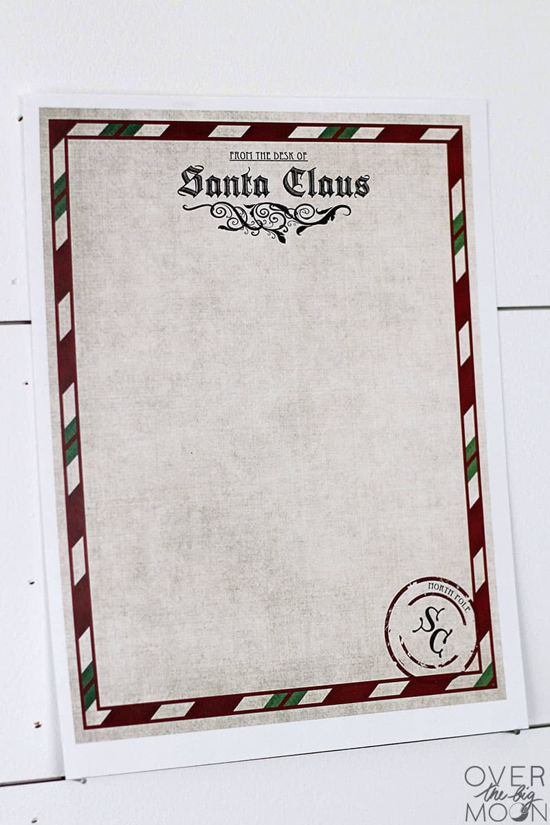 image about Printable Letters From Santa Claus known as Letter versus Santa Printable