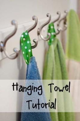 Hanging Towel Tutorial