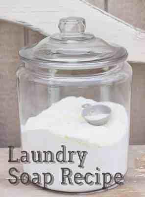 Make your own Napkins & Detergents!