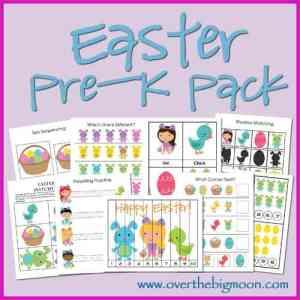 Easter Pre-K Pack
