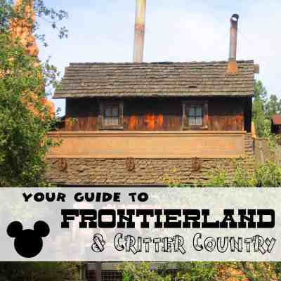 Frontierland & Critter Country - Ride by Ride