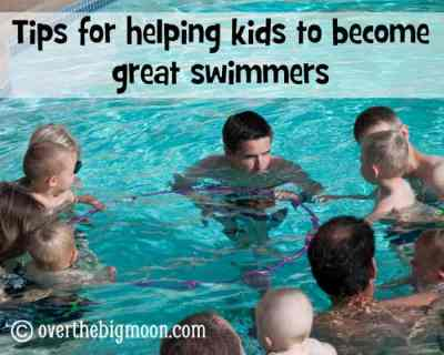 Teaching Kids to Not Fear the Water