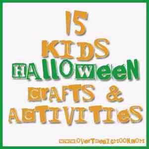 15 Kids Halloween Crafts & Activities