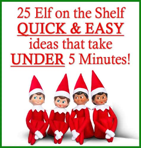 photograph relating to Elf on the Shelf Printable Story called 25 Elf upon the Shelf Simple and Uncomplicated Programs that consider Underneath 5