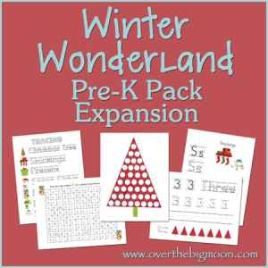 Winter Wonderland Pre-K Pack Expansion