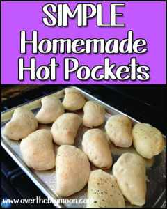 Simple Homemade Hot Pockets