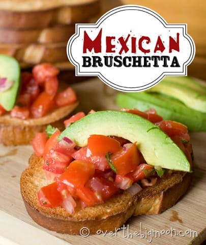 mexican Bruschetta button