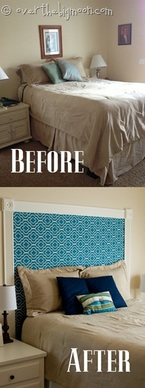 headboard before and after