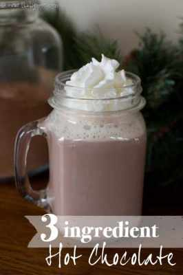 3 Ingredient Old Fashioned Hot Chocolate