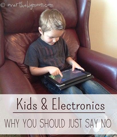 kids and electronics