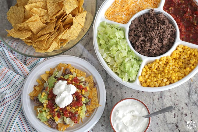 Easy Nacho Bar