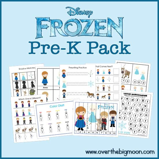 What Do We Really Know About Pre K >> Frozen Pre K Pack