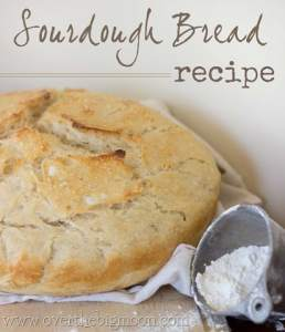 Easy Sourdough Bread Recipe