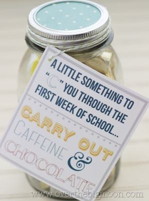 First Day of School Gift