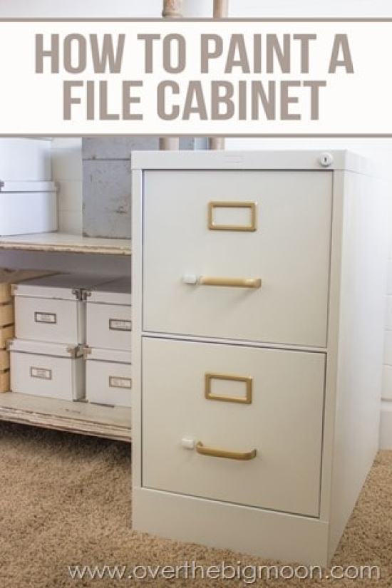Strange Diy File Cabinet Desk Tutorial Over The Big Moon Download Free Architecture Designs Osuribritishbridgeorg